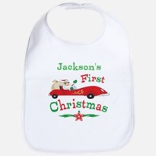 Custom 1st Christmas Bib