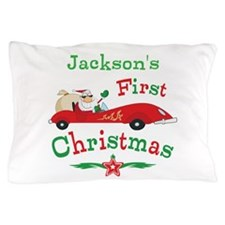 Custom 1st Christmas Pillow Case