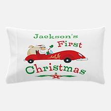 Custom 1st Christmas Pillow Case