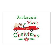 Custom 1st Christmas Postcards (Package of 8)