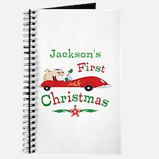 Custom 1st Christmas Journal