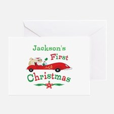 Custom 1st Christmas Greeting Card