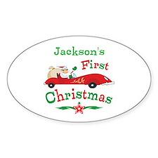 Custom 1st Christmas Decal