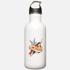 Alice's White Rabbit Water Bottle