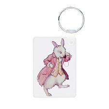 Alice's White Rabbit Keychains