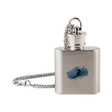 Ski Jumper Flask Necklace
