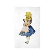 Alice in Wonderland 3'x5' Area Rug
