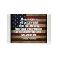 Democracy Quote Magnets