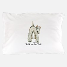 Wire Fox Terrier Tail WFT Pillow Case