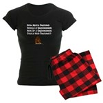 Celebrate Groundhog Day Women's Dark Pajamas