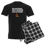 Celebrate Groundhog Day Men's Dark Pajamas