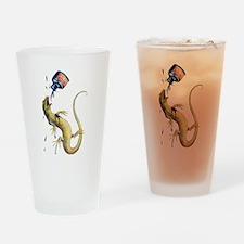 Bill the Lizard Drinking Glass
