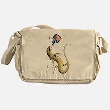 Bill the Lizard Messenger Bag