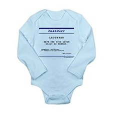 Laughtees Laughter Prescription Label Baby Outfits