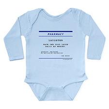 Laughtees Laughter Prescription Label Onesie Romper Suit