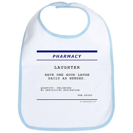 Laughtees Laughter Prescription Label Bib