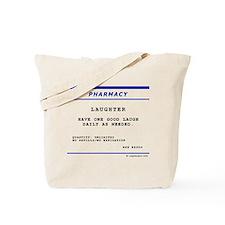 Laughtees Laughter Prescription Label Tote Bag