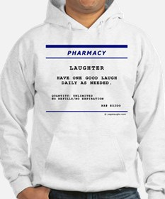 Laughtees Laughter Prescription Label Hoodie