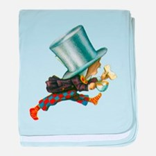 The Mad Hatter baby blanket
