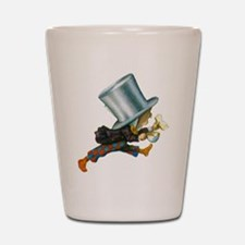 The Mad Hatter Shot Glass