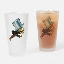 The Mad Hatter Drinking Glass