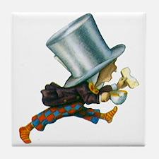 The Mad Hatter Tile Coaster