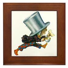 The Mad Hatter Framed Tile