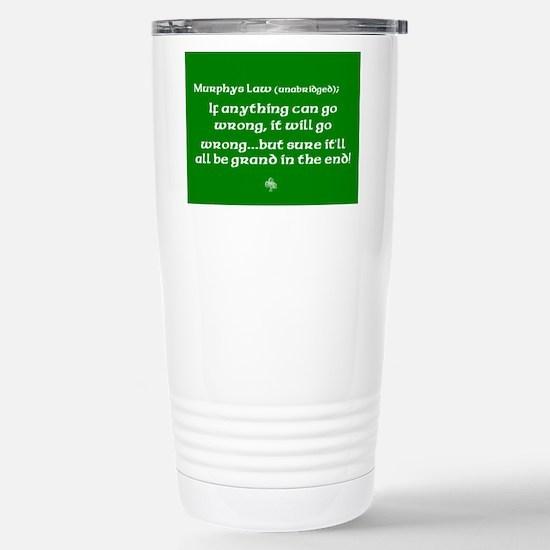 murphyslaw Stainless Steel Travel Mug