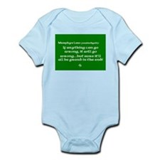 murphyslaw Infant Bodysuit