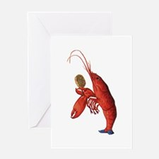 The Lobster-Quadrille Greeting Card