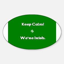 keepcalmcafe.jpg Sticker (Oval)