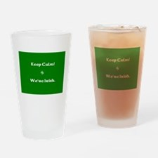 keepcalmcafe.jpg Drinking Glass
