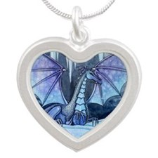 Ice Dragon Fantasy Art by Molly Harrison Silver He