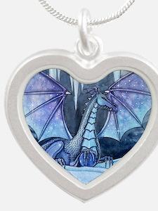 Ice Dragon Fantasy Art by Molly Harrison Silver He