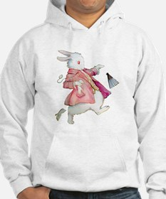 Alice's White Rabbit Hoodie Sweatshirt