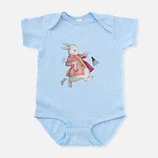 Alice's White Rabbit Infant Bodysuit