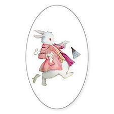 Alice's White Rabbit Decal