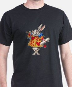 Alice's White Rabbit T-Shirt