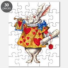 Alice's White Rabbit Puzzle