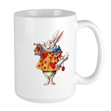 Alice's White Rabbit Mug