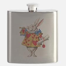 Alice's White Rabbit Flask