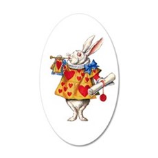 Alice's White Rabbit Wall Decal