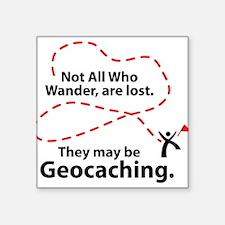 GEO Wander Rectangle Sticker