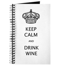 KEEP CALM and DRINK WINE#233.png Journal