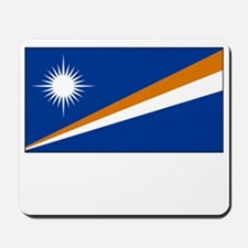 The Marshall Islands Flag Picture Mousepad