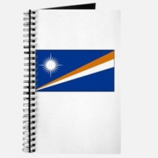 The Marshall Islands Flag Picture Journal