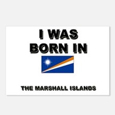 I Was Born In The Marshall Islands Postcards (Pack
