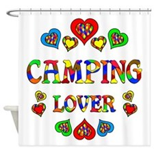 Camping Lover Shower Curtain