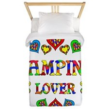 Camping Lover Twin Duvet
