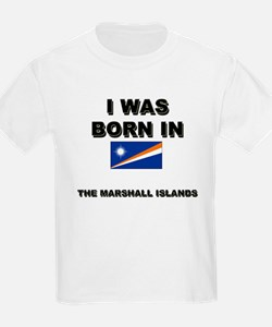 I Was Born In The Marshall Islands Kids T-Shirt